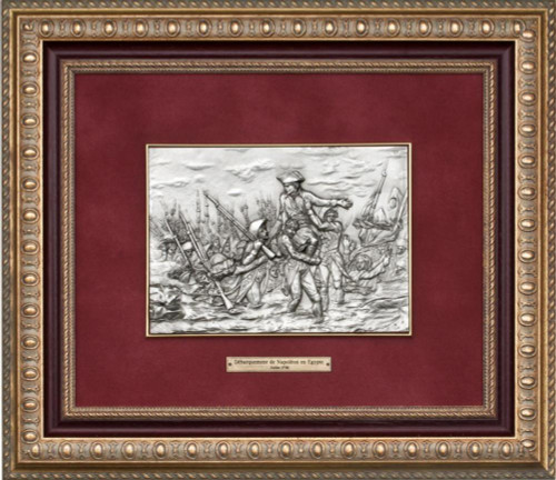 Table of the landing of Napoleon in Egypt by Les Estains Du Prince, Free Shipping, MSRP ($539.37)