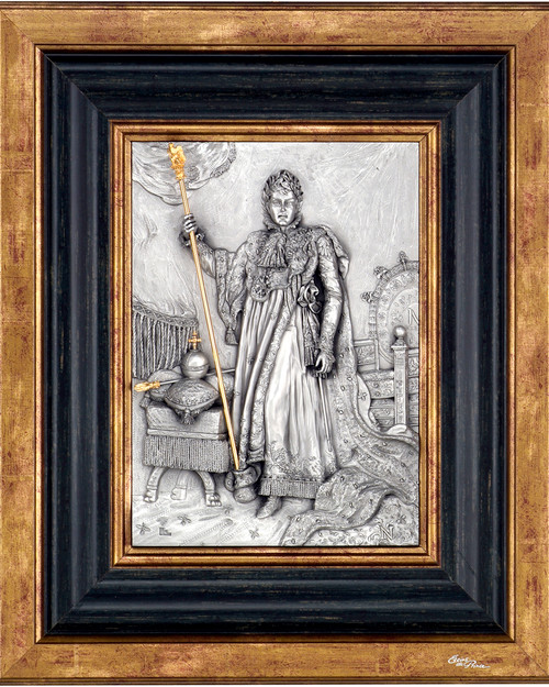 Napoleon in regalia by Les Estain Du Prince, Free Shipping, MSRP($374.00)