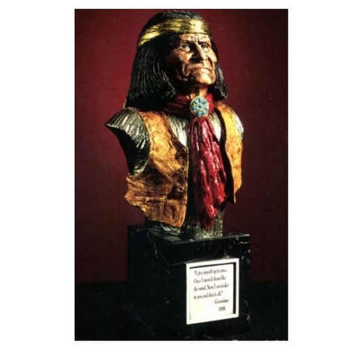 Geronimo by Legends Sculptures, Free Shipping, MSRP ($950.00)