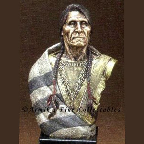 Noble Elder, Blackfeet by Legends Sculptures, Free Shipping, MSRP ($350.00)