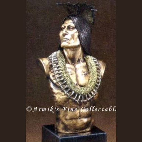 Proud Warrior by Legends Sculptures, Free Shipping, MSRP ($350.00)