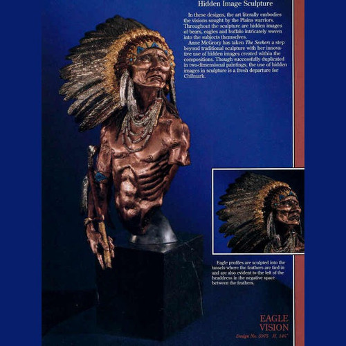 Eagle Vision by  Legends Sculptures, Free Shipping, MSRP ($1,750.00)