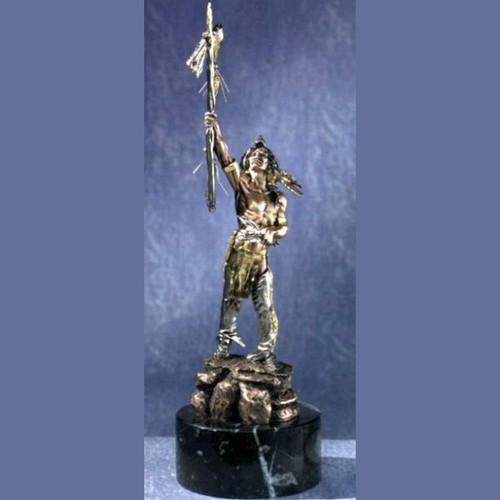 Spirit of the Wolf by Legends Sculptures, Free Shipping, MSRP ($525.00)