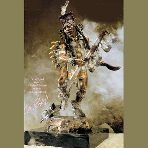 Songs Of Glory by  Legends Sculptures, Free Shipping, MSRP ($1,950.00)