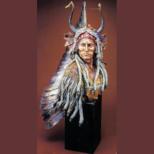Esteemed Warrior by  Legends Sculptures, Free Shipping, MSRP ($1,875.00)