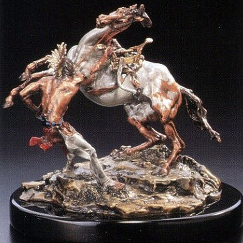 Breaking Of The Worhorse by  Legends Sculptures, Free Shipping, MSRP ($590.00)