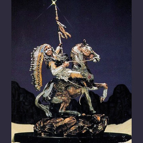 Crow Warrior by  Legends Sculptures, Free Shipping, MSRP ($1,575.00)