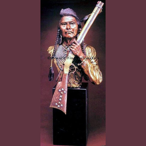 No More, Forever, Chief Joseph by Legends Sculptures, Free Shipping, MSRP ($1,525.00)