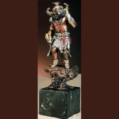 Ahote- Kachina  by  Legends Sculptures, Free Shipping, MSRP ($495.00)