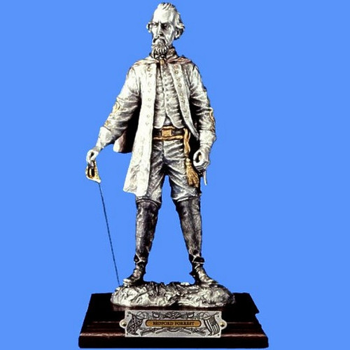 Nathan Bedford Forrest by Frances Barnum-Chilmark, Free Shipping, MSRP ($375.00)