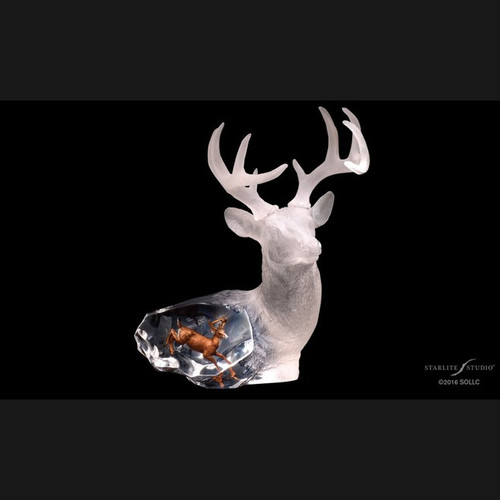 Majestic Spirit, Deer by Kitty Cantrell-Lucite Art, Free Shipping, MSRP ($360.00)