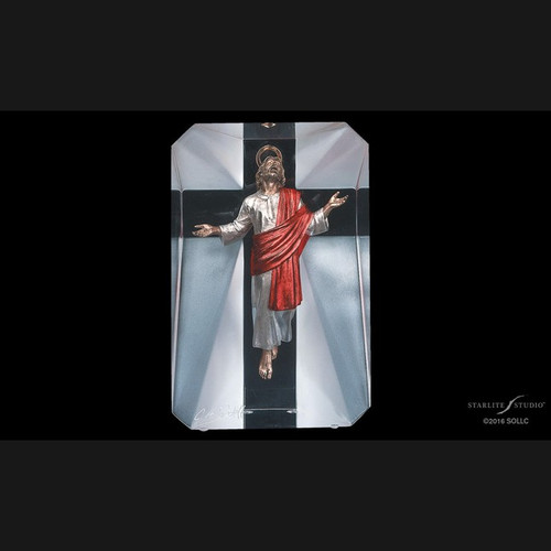 Resurrection, Holy resurrection of Christ by Christopher Pardell-Lucite Art, Free Shipping, MSRP ($500.00)