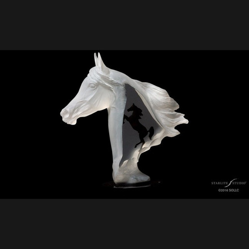 Royal Arabian by Kitty Cantrell-Lucite Art, Free Shipping, MSRP ($700.00)