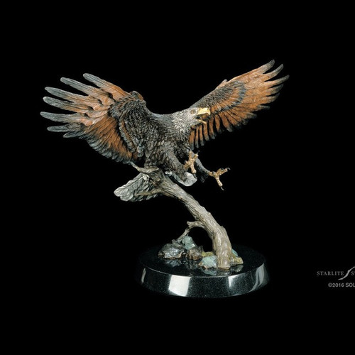 The Creator's Messenger Eagle by Kitty Cantrell-Lucite Art, Free Shipping, MSRP ($6,995.00)