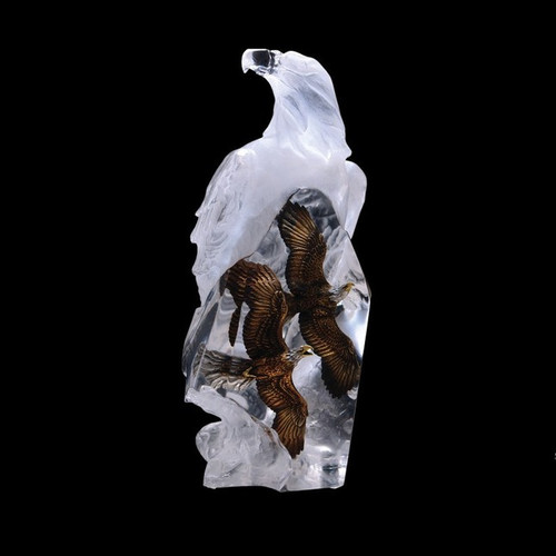 Valor, eagles  by Lucite Art, Free Shipping, MSRP ($495.00)