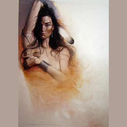 Destiny by Ozz Franca-Wall Art, Free Shipping, MSRP ($695.00)