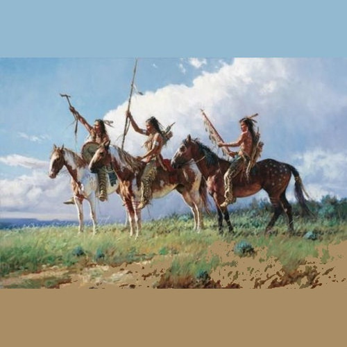 Challenge-Unframed by Martin Grelle-Wall Art, Free Shipping, MSRP ($1,800.00)