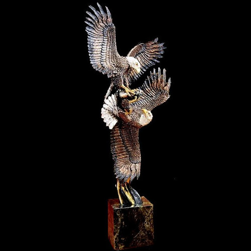 Aerial Display by Western Wildlife Art, Free Shipping, MSRP ($795.00)
