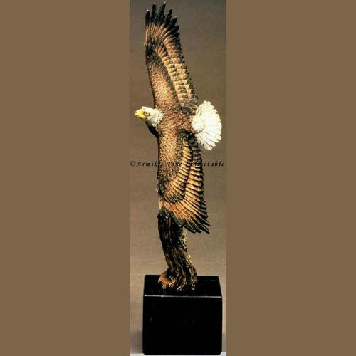 Aquila Libre-AP by Kitty Cantrell - Western Wildlife Art, Free Shipping, MSRP ($350.00)