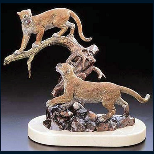 Cats Cradle by Western Wildlife Art, Free Shipping, MSRP ($795.00)