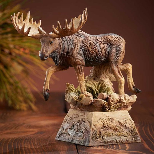 Ambler, Moose Sculpture by Danny Edwards-Western Wildlife Art, Free Shipping, MSRP ($120.00)