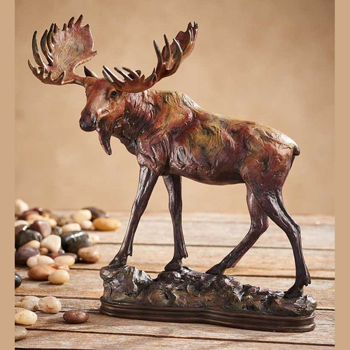 Gentle Giant, Moose Sculpture by Danny Edwards-Western Wildlife Art, Free Shipping, MSRP ($145.00)