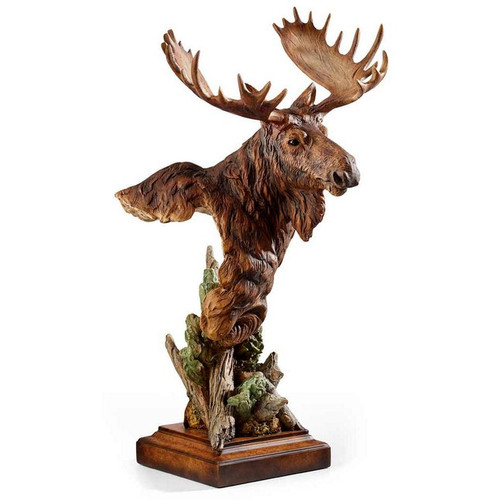 Heavy Weight Moose Sculpture by Western Wildlife Art, Free Shipping, MSRP ($140.00)
