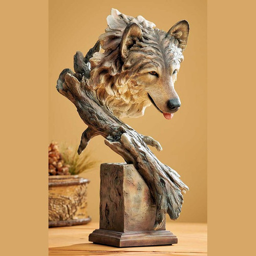 The Survivor – Wolf by Western Wildlife Art, Free Shipping, MSRP ($110.00)