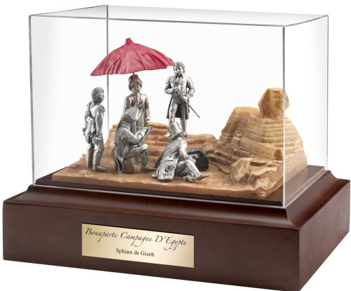 Napoleon and the Sphinx - Complete Scene by Les Estain Du Prince, Free Shipping, MSRP(613.78)