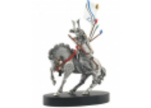 Samourai Knight S 2, Pewter Figurine  by Les Estain Du Prince, Free Shipping, MSRP(408.33)