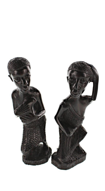 One Piece Ujama Family Tree Makonde Carving by Zawadee, Free Shipping, MSRP ($149.99)