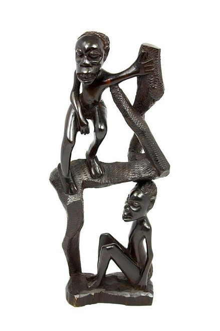 Man protecting his Woman from Shetani Spirit by Zawadee, Free Shipping, MSRP ($224.99)