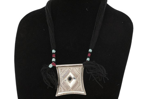 TCHEROT, Silver & Semi-Precious Stone Pendant by The Azel Collection Free Shipping, MSRP($186.99)