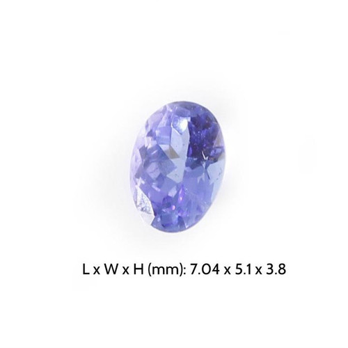 Tanzanite Precious Gemstone - Oval Cut