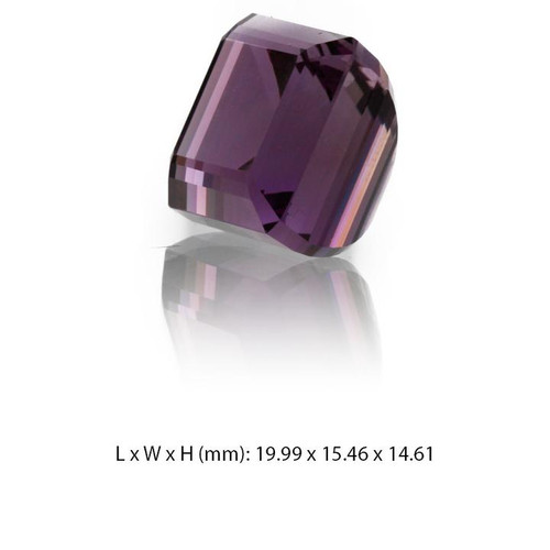 Amethyst Gemstone - Octagon Cut