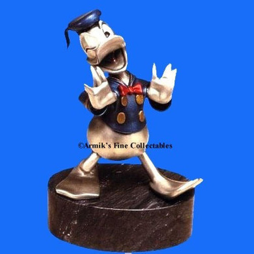 The Duck - Fine Pewter by Hudson Creek, Free Shipping, MSRP($500.00)