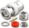 BNC Male Standard Compression Clamp Connector for RG-58 Coaxial Cable