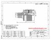 Mini-UHF Female to N-Male Coaxial Adapter RFA-8262