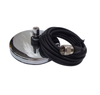 """3"""" Heavy Duty Chrome Antenna Mag Mount with PL259 - 12ft. Cable"""
