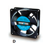 Thermocool Axial Cooling Fan - 120V - Model G12025HAS