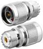 N-Male to UHF-Female SO239 Coaxial Adapter (RFA-8613)