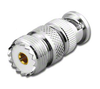 BNC-Male to SO-239 UHF-Female Coaxial Adapter Connector