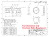 TNC Female Bulkhead Coaxial Connector Adapter TNC-3461