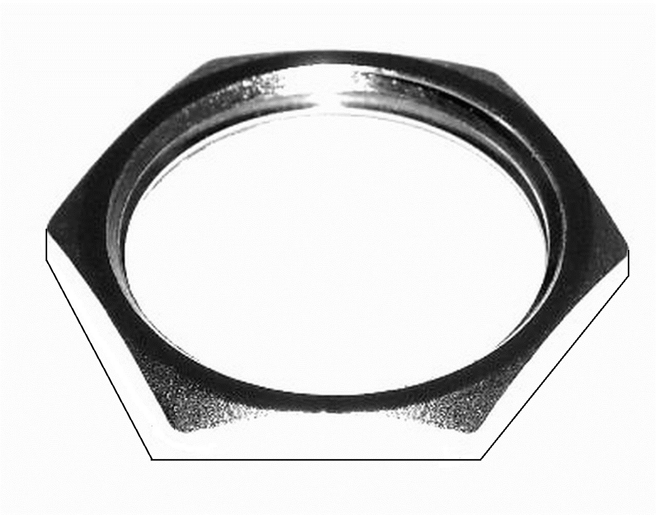 Nut for UHF-Female and Type N-Female Connectors - SO-239