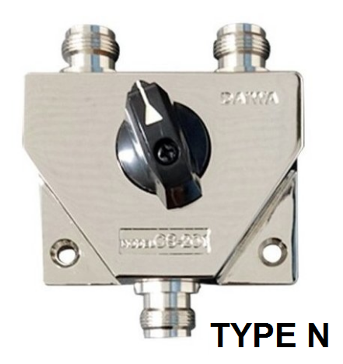 Daiwa CS-201GII - 2-Position Coax Switch Type N Female Connectors