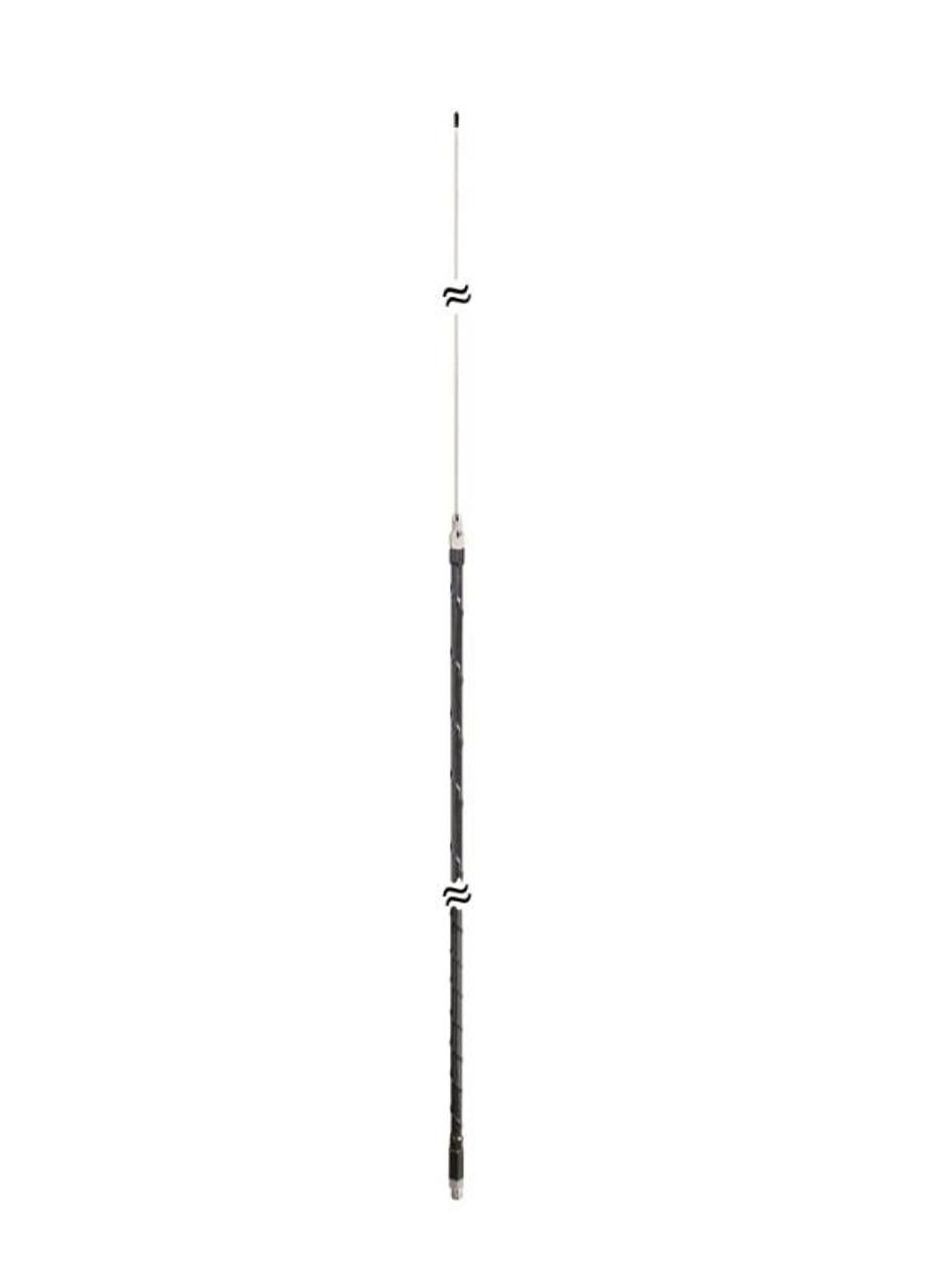 ProComm PCF40 - 40-Meter HF Fiberglass Ham Stick Antenna Black 500-Watt