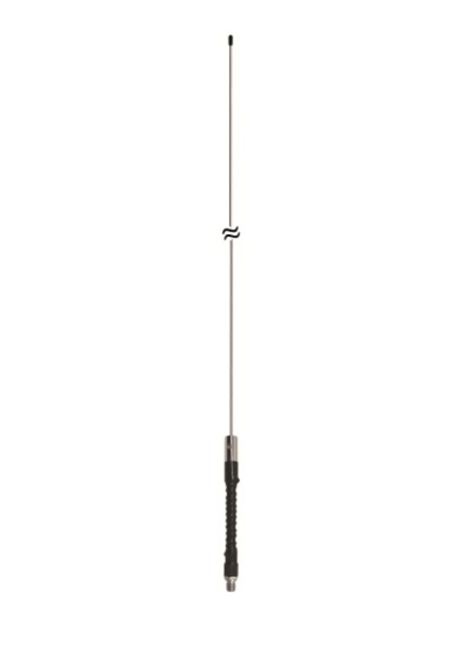 ProComm PC144 - 2-Meter 144 MHz 3dB Gain Ham Stick Antenna 350-Watt Black