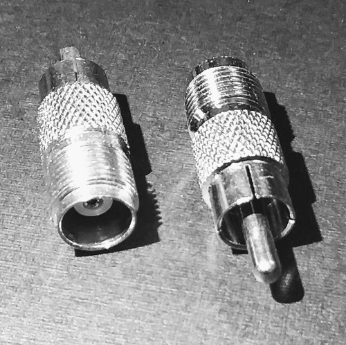 TNC-Female to RCA-Male Coaxial Adapter Connector