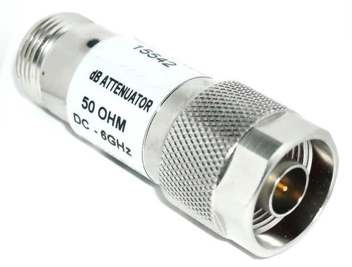 12 dB - Type N Fixed Coaxial Attenuator