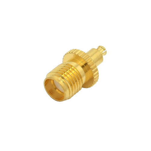 MC Plug to SMA Female Coaxial Adapter Connector - H401